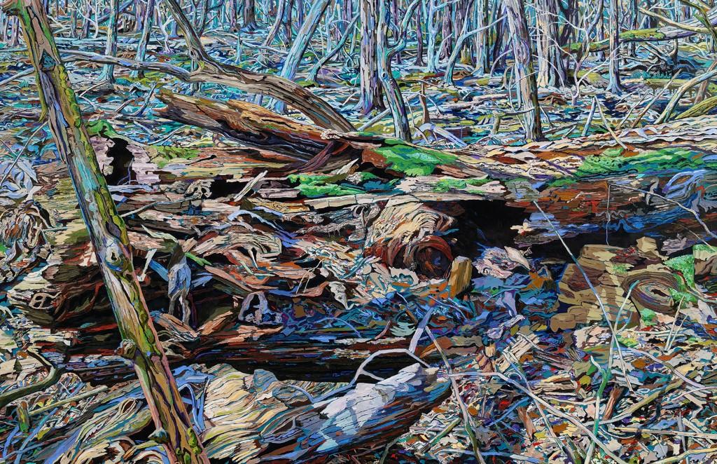Trockener Wald